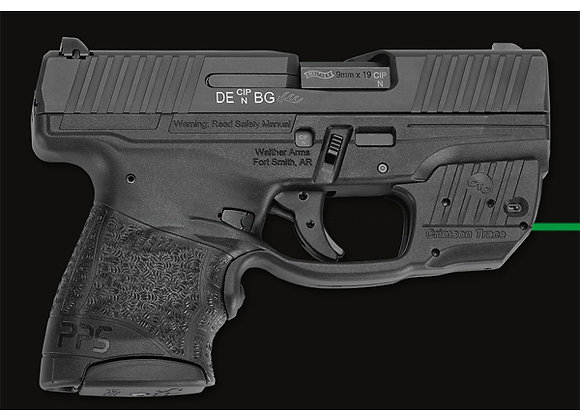 LG-482 GREEN Laser Sight for Walther PPS M2 by Crimson Trace Lasers