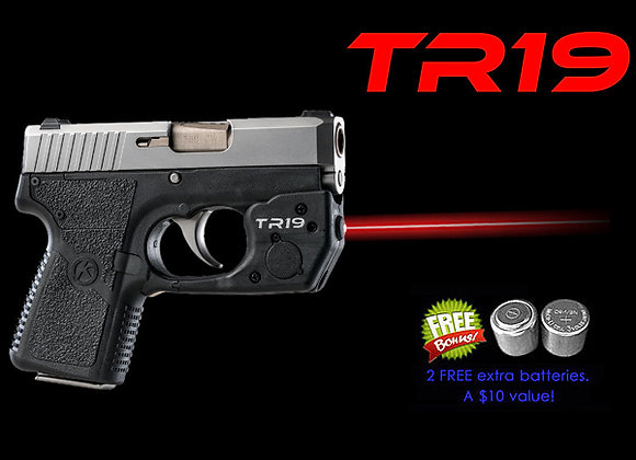 TR19 Red Laser Sight for Kahr® P380, CW380, CT380 with Grip Touch Activation