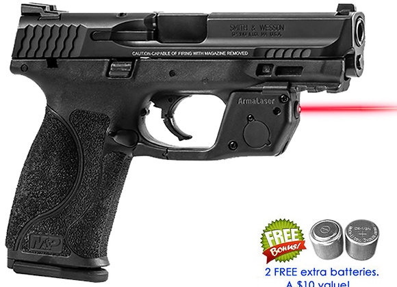 TR32 Red Laser for Smith-Wesson S&W M&P 9mm, .40SW, .22 Full Size