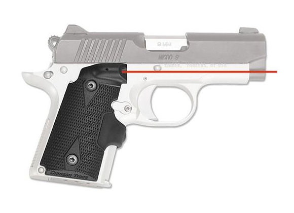 LG-409 RED Laser Sight Lasergrip for Kimber Micro 9 Pistols by Crimson Trace