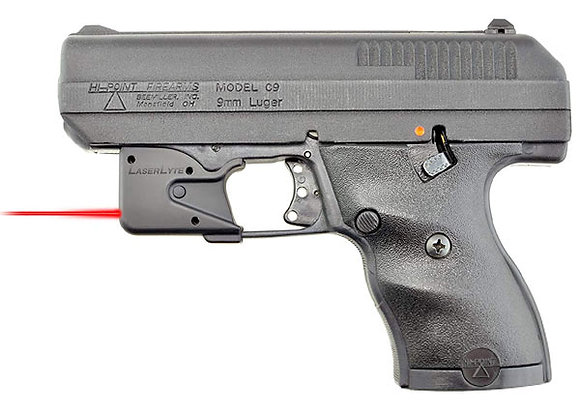 Laserlyte Red Laser Sight for Hi-Point 380 ACP, 9 MM, 40 SW, 45 ACP Pistols