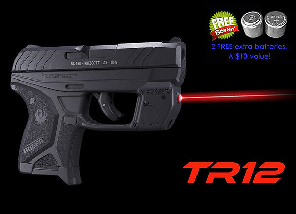 TR12 Red Laser Sight for Ruger® LCP II with Grip Touch Activation
