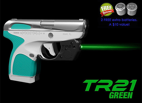 TR21-G Green Laser Sight for Taurus SPECTRUM with Grip Touch Activation