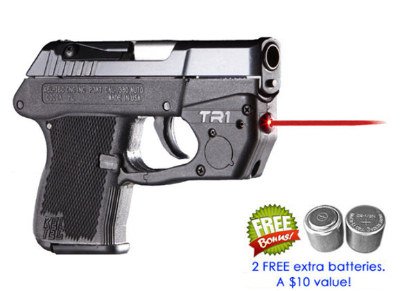 TR1 Red Laser Sight for Kel-Tec® P-3AT, P-32® with Grip Touch Activation