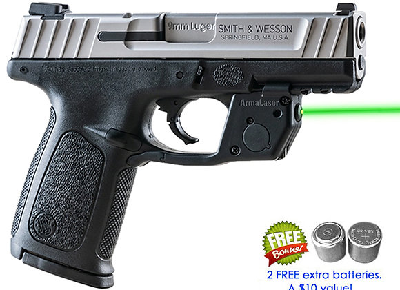 TR31-G Green Laser for Smith-Wesson S&W SD9VE & SD40VE  (NOT SW9VE or SW40VE)