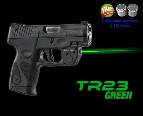 Tr23 G Green Laser Sight For Taurus Pt111 Pt140 Millennium G2