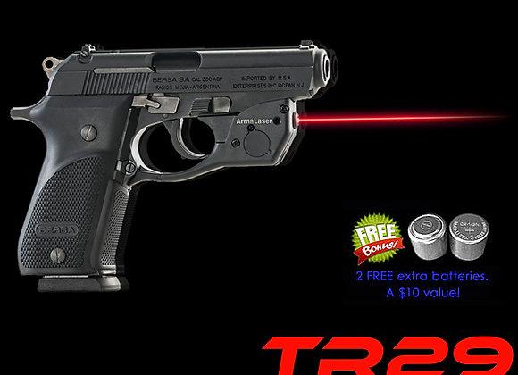 TR29 Red Laser Sight for Bersa Thunder .380 Plus Pistols