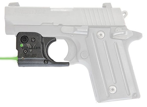 Green Laser for SIG SAUER P238/P938 by Viridian with FREE Holster