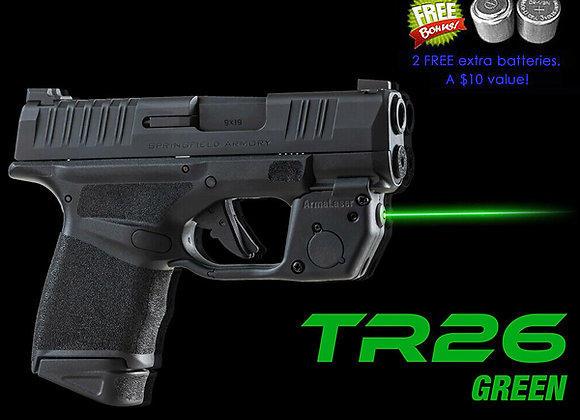 TR26-G Green Laser Sight for Springfield®  Hell Guns w/ Grip Touch Activation
