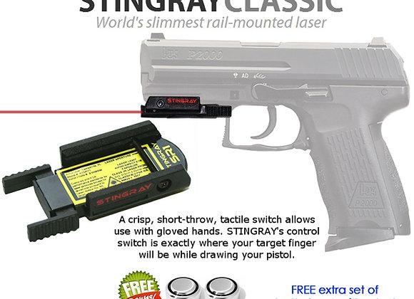 ArmaLaser Stingray RED LASER Sight for H&K HK 45, P2000, P30L, VP9, SFP9