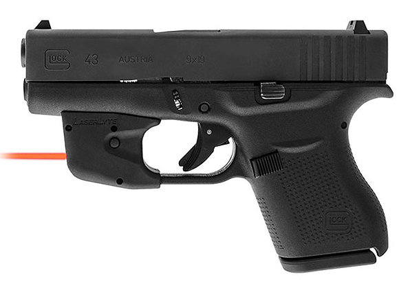 Laserlyte Red Laser Sight for Glock Gen 1, 2, 3, 4: G26, G27, G42 & G43