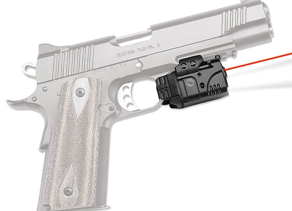 Universal Red Laser & LED Light Rail Master by Crimson for Pistols with Rails