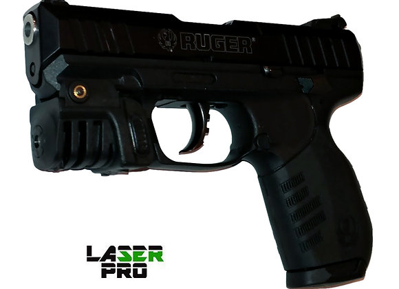 Green Rechargeable Laser Sight for Hand Gun Pistols w/a Rail