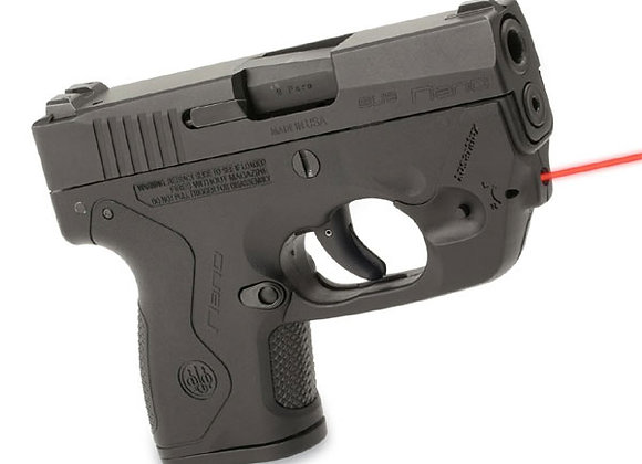 Lasermax Centerfire Red Laser Sight for Beretta Nano Pistols