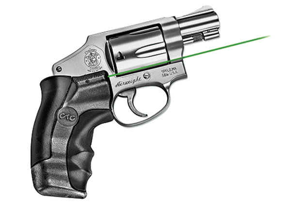 LG-350 GREEN Laser Sight for S&W J-Frame Round Butt Revolvers by Crimson