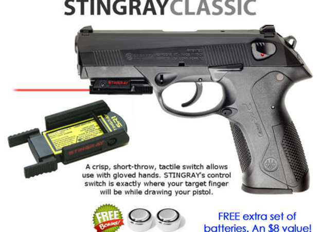 ArmaLaser Stingray RED LASER for Beretta PX4 Storm Full Size 92 M9A1 M92A1  M96A1
