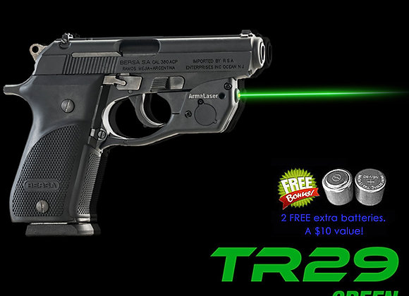 TR29-G Green Laser Sight for Bersa Thunder .380 Plus Pistols