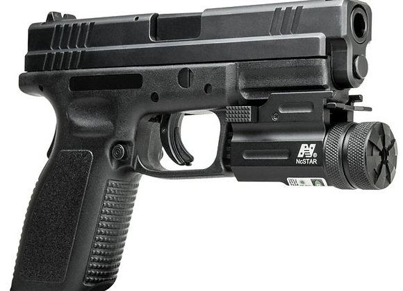 Universal Green Quick-Release Laser Sight for Pistols & Guns with Rails