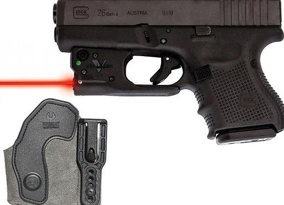 Red Laser for Glock 19 23 25 26 27 28 32 33 35 36 38 39 w/ FREE Holster