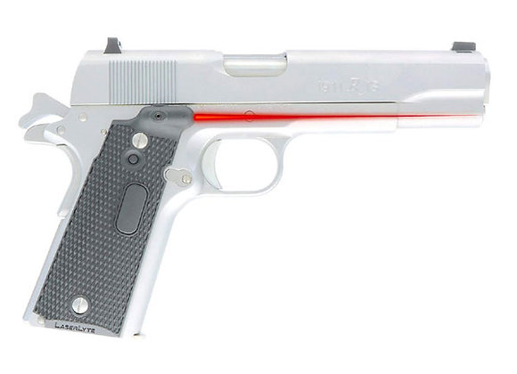 Laserlyte Red Laser Sight for All 1911 Pistols Full-Size, Commander / Government
