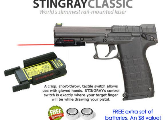ArmaLaser Stingray Red Laser Sight for KelTec Guns with Rails: Kel-Tec PMR-30