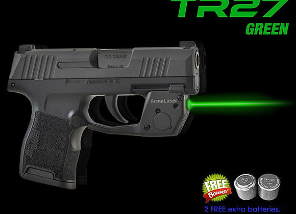 TR27-G Green Laser Sight for SIG Sauer®  P365 Guns w/ Grip Touch Activation