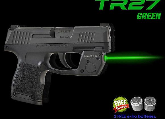 TR27-G Green Laser Sight for SIG Sauer®  P365 Guns w/ Grip Touch Activation