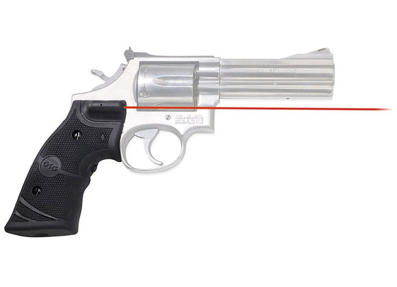 LG-308 RED Laser Sight Lasergrip for S&W K and L Frame Round Butt Revolvers