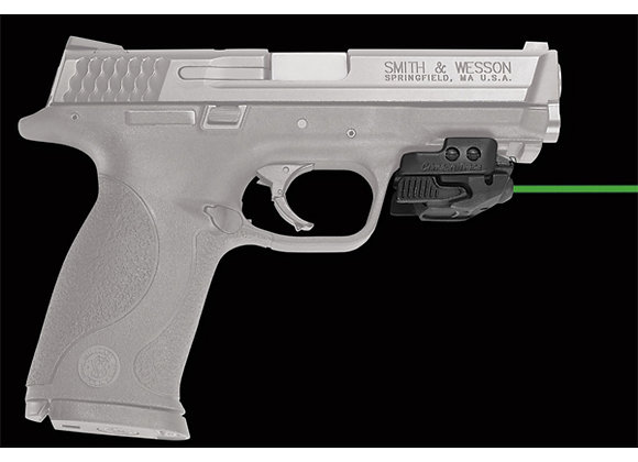 Universal GREEN Laser Sight Rail Master by Crimson Trace for Pistols with Rails