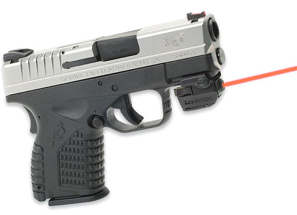 Lasermax Universal Micro RED LASER Sight for Pistols with Rails