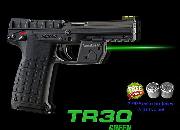 TR30-G Green Laser Sight for Kel-Tec® PMR-30 with Grip Touch Activation
