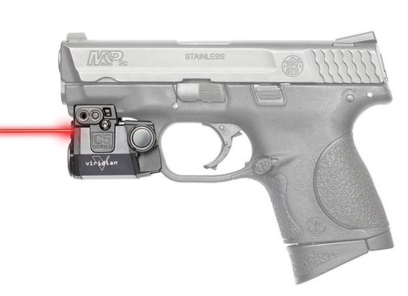 "Red Laser for Pistols with 1"" Clearance on the Rail by Viridian"