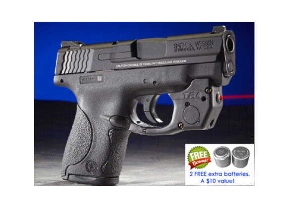 TR4 Red Laser Sight for Smith-Wesson® Shield 9mm / .40 (not .45 or EZ) S&W