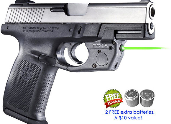 TR15-G Green Laser for Smith-Wesson Sigma SW9VE SW40VE SW9E SW40E SW9G SW40G