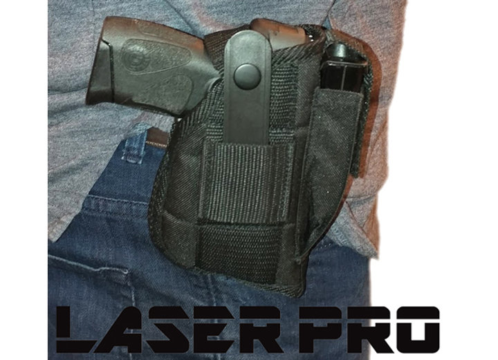 LASERPRO Tactical Laser Holster - Fits Pistols with Mounted Lasers