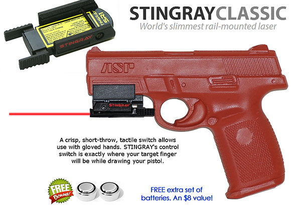 ArmaLaser Stingray RED LASER Sight for S&W Sigma SW9VE & SW40VE w/ Rail Adapter