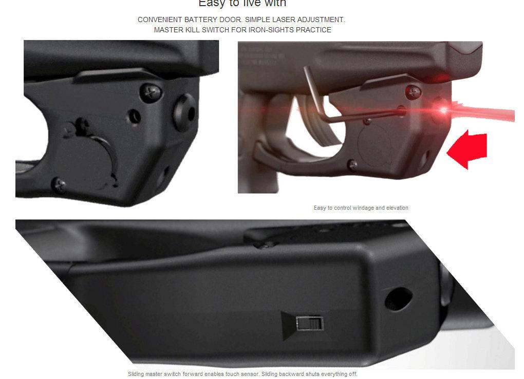 TR23 Red Laser Sight for Taurus® PT111 / PT140 Millennium G2 & G2c w/Grip  On/Off