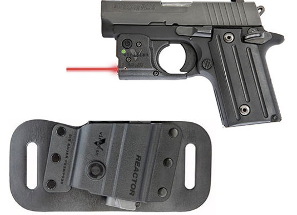 Red Laser for SIG SAUER P238/P938 by Viridian with FREE Holster