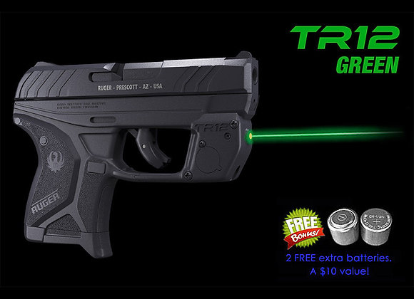 TR12-G Green Laser Sight for Ruger® LCP II with Grip Touch Activation