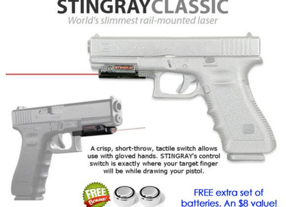 ArmaLaser Stingray Red Laser for Glock 17 19 20 21 22 23 31 32 34 35 37 38 41