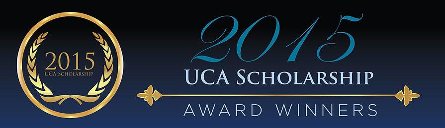 UCA Scholarship Award Winners 2014