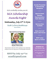 UCASF Scholarship Awards Night 2016 - Katie Edwards