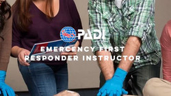 PADI EMERGENCY FIRST RESPONSE INSTRUCTOR