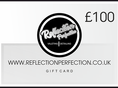 £100 Gift Card Voucher