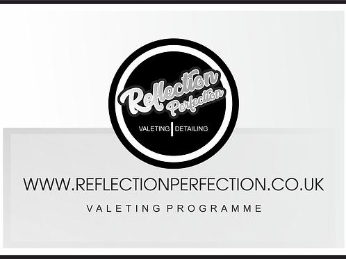Valeting Programme