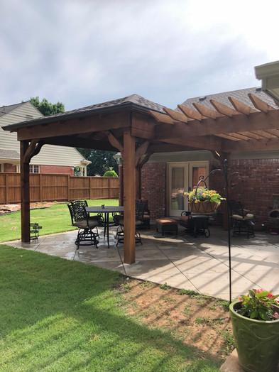 Amazing outdoor patio