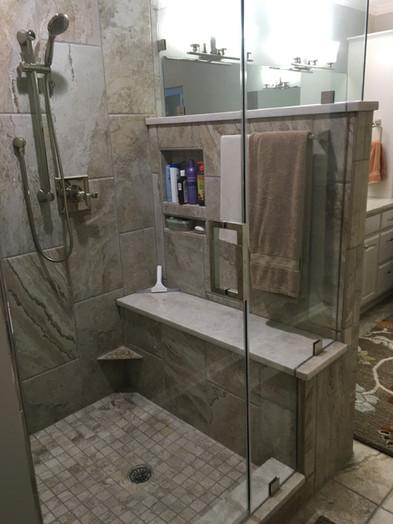 The model shower