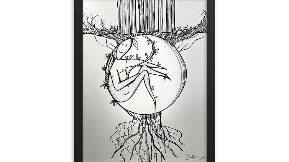 Birth of Spring Framed Poster