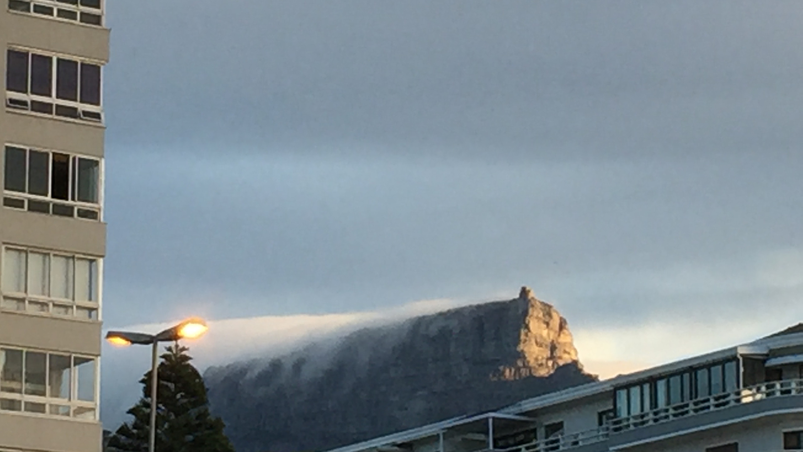 Cool Clouds on Table Mountain