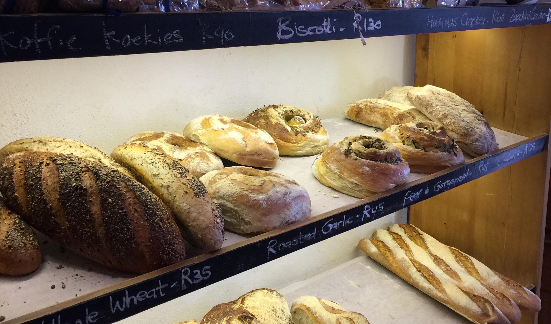 Delicious Bread from Babylonstoren